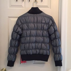 The North Face Jackets & Coats - NWT North Face Blue/Gray Down Jacket (Women's S)